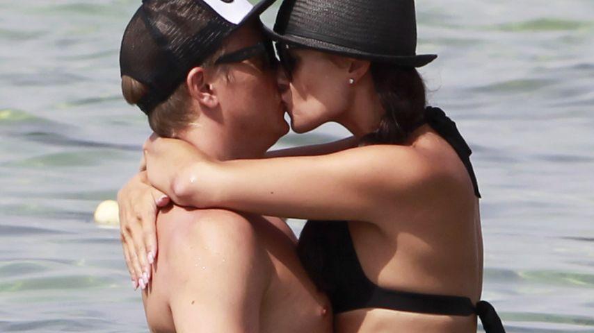 Liebesurlaub: Kimi Räikkönen knutscht mit seiner Minttu