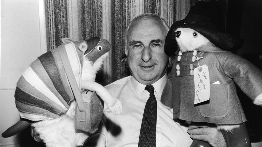 Kinderbuchautor Michael Bond im Jahr 1981