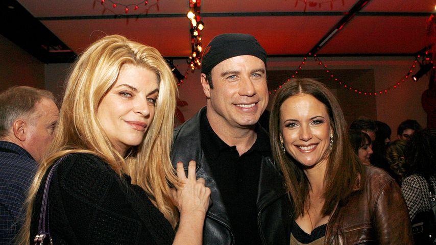 Kirstie Alley, John Travolta und Kelly Preston