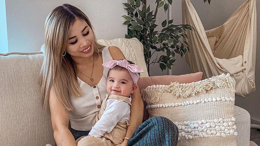 Kisu und Töchterchen Milena, März 2020