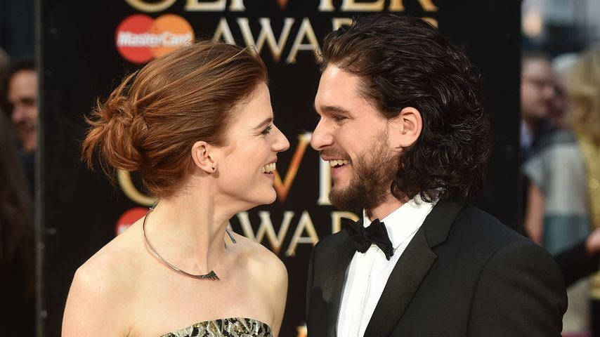 "Rose Leslie und Kit Harington bei den ""Olivier Awards"" 2016"