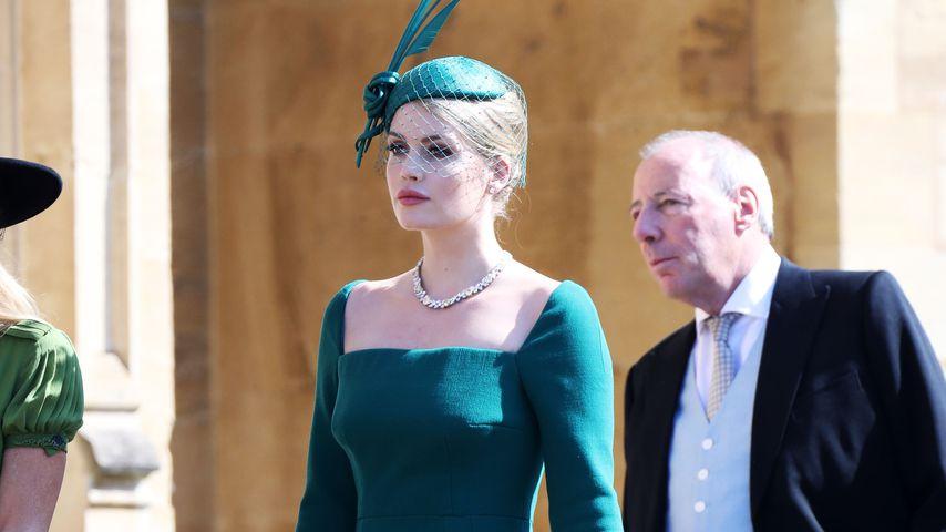 Kitty Spencer bei der Hochzeit von Prinz Harry und Meghan Markle im Mai 2018