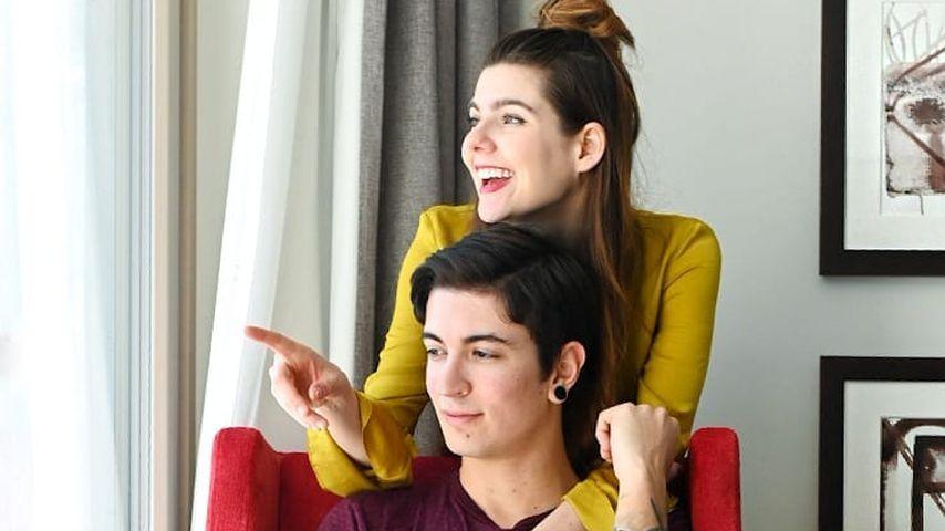 Klaudia Giez mit ihrem Verlobten Felipe
