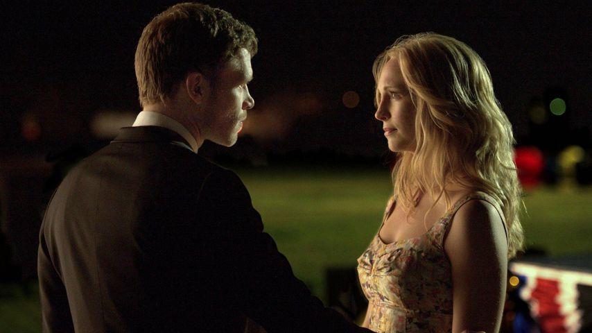 "Klaus (Joseph Morgan) und Caroline (Candice King) in ""Vampire Diaries"""