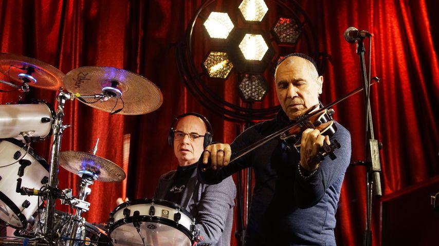 Klaus Selmke und Georgi Gogow von der Band City