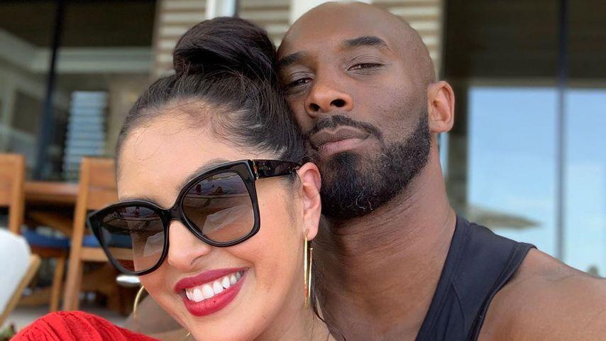 Vanessa und Kobe Bryant, August 2019
