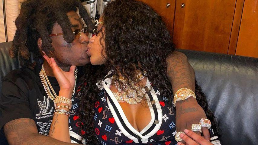 Antrag per Flugzeugbanner: Rapper Kodak Black ist verlobt