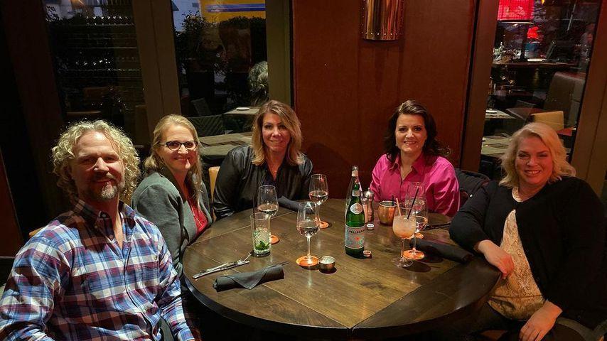 Kody Brown mit seinen Ehefrauen Robyn, Meri, Christine und Janelle