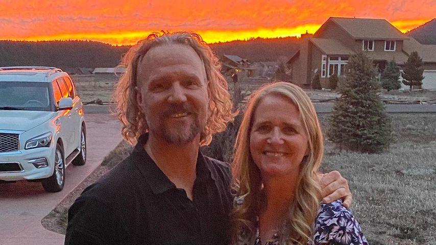Kody und Christine Brown im März 2020