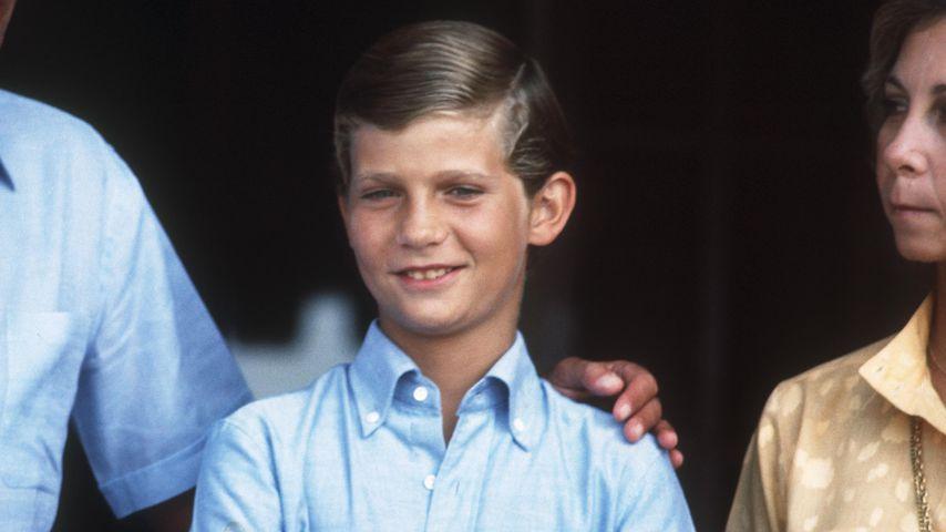 König Felipe 1981 auf Mallorca