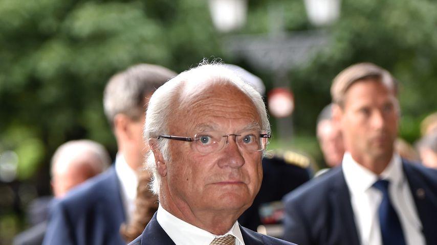 König Carl Gustaf von Schweden in München