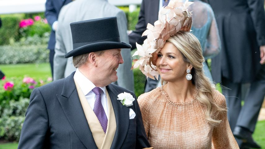 König Willem-Alexander und Königin Maxima beim Royal Ascot Pferderennen 2019