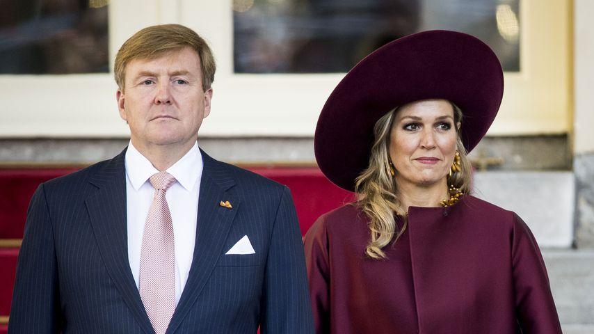 König Willem-Alexander der Niederlande und Königin Maxima
