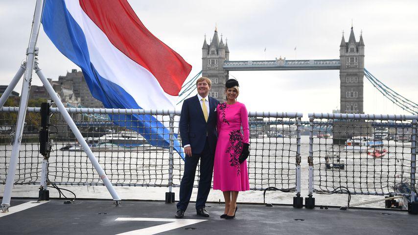 König Willem-Alexander und Königin Maxima während ihres Staatsbesuches in London