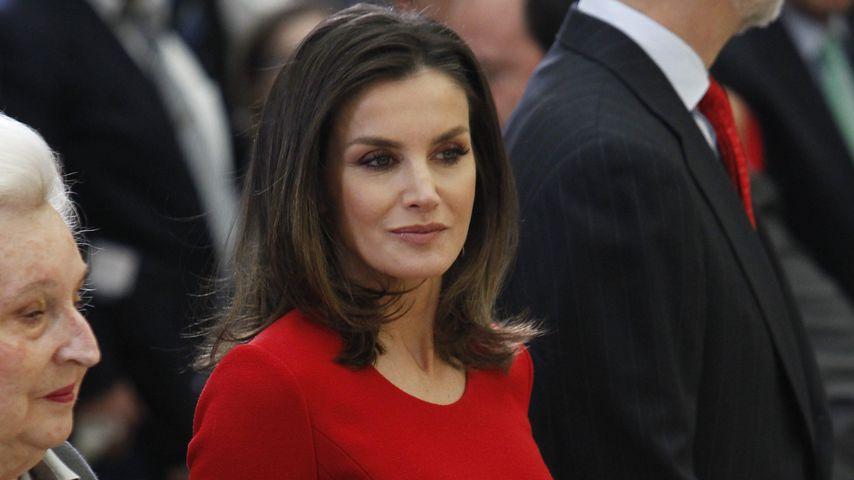 Elegant in Rot: Königin Letizia verzückt im Wow-Outfit