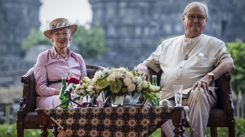 Königin Margrethe von Dänemark und ihr Mann Prinz Henrik