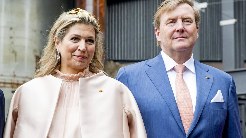 Königin Máxima und König Willem-Alexander der Niederlande in Luxemburg