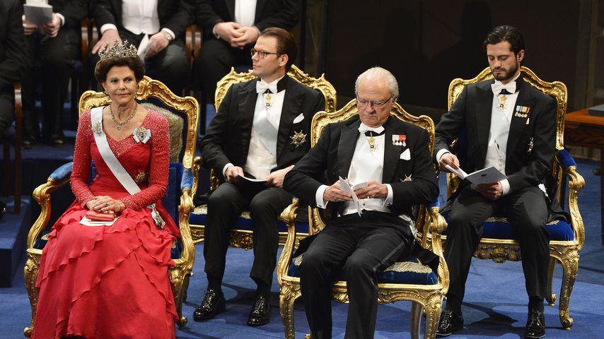 Prinz Carl Philip von Schweden, Prinz Daniel von Schweden und Carl Gustaf