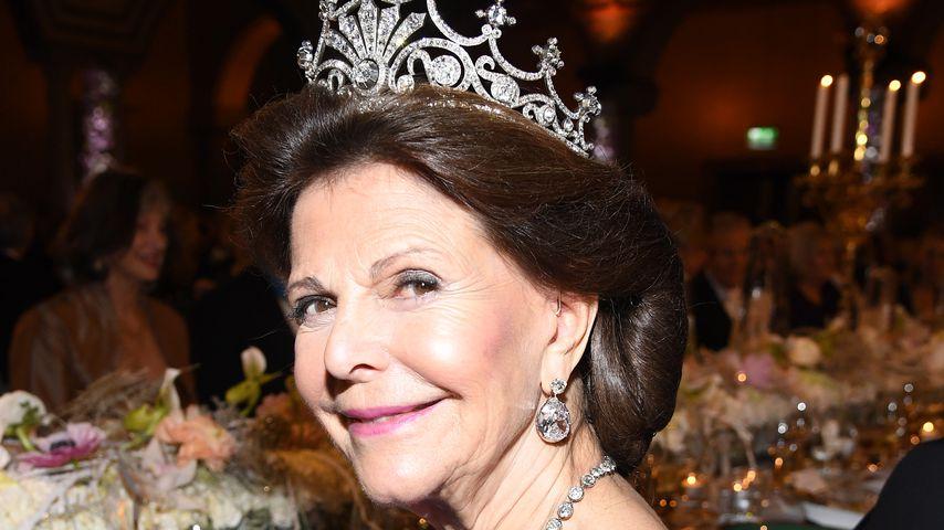 Königin Silvia von Schweden beim Nobel Preis Bankett 2017