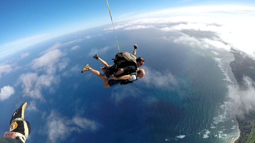 Konny Reimann: Extrem-Fallschirm-Sprung aus 7.000 Metern!