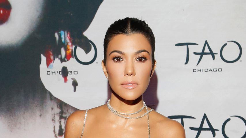 Kourtney Kardashian bei einer Eröffnungsparty in Chicago