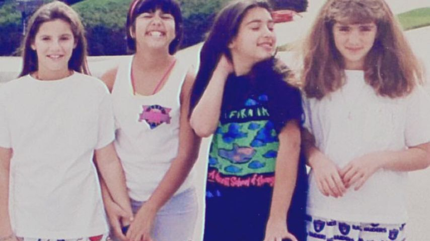 Kardashian-Throwback: So süß waren Kim & Kourtney als Kids