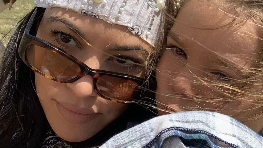 Kourtney Kardashian mit ihrer Tochter Penelope, Juni 2020