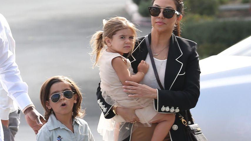 Kourtney Kardashian, Penelope Disick und Mason Disick