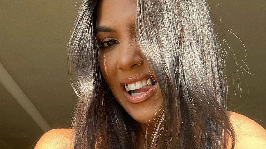 Wow! Kourtney Kardashian postet sexy Schnappschüsse im BH