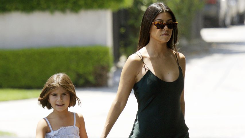 Kourtney Kardashian und Tochter Penelope
