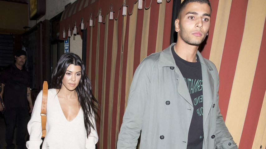 Kourtney Kardashian und Younes Bendjima in Los Angeles