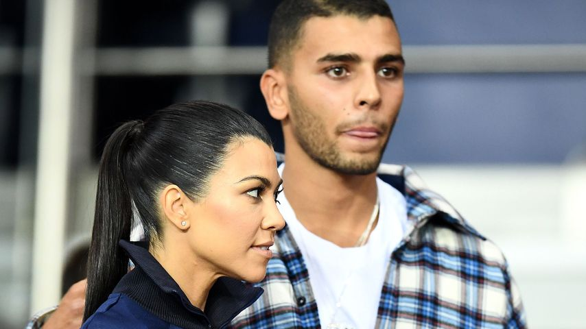 Kourtney Kardashian und Younes Bendjima im September 2017