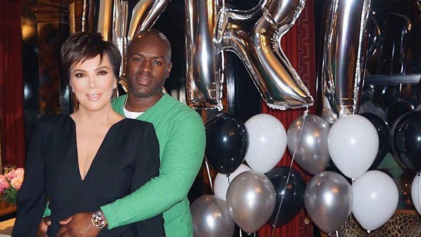 Reality-TV-Persönlichkeit Kris Jenner und ihr Partner Corey Gamble