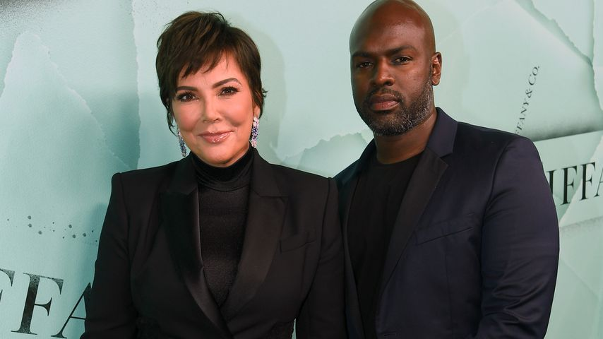 Kris Jenner und Corey Gamble bei einem Event von Tiffany & Co. in New York City