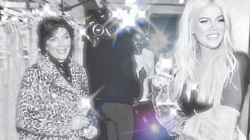 """""""Du bist eine Königin"""": Khloe schwärmt von Mama Kris Jenner!"""