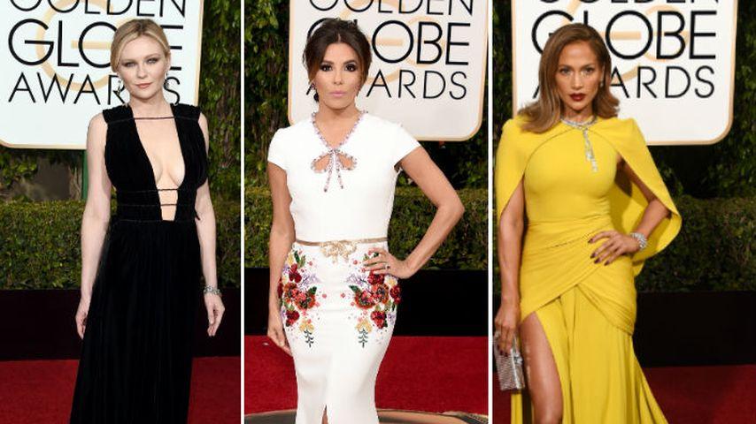 """Lang & Elegant: Die spektakulärsten """"Golden Globes""""-Outfits"""