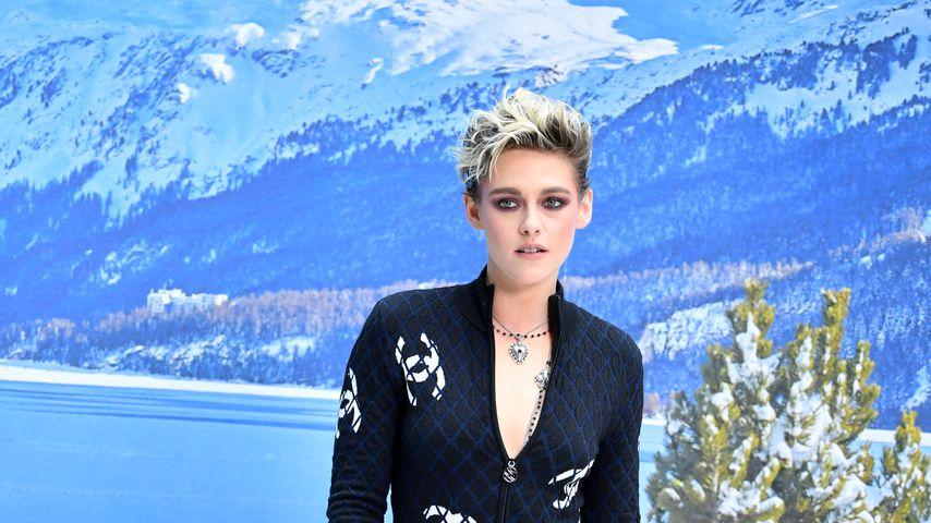 Kristen Stewart während der Pariser Fashion Week, März 2019