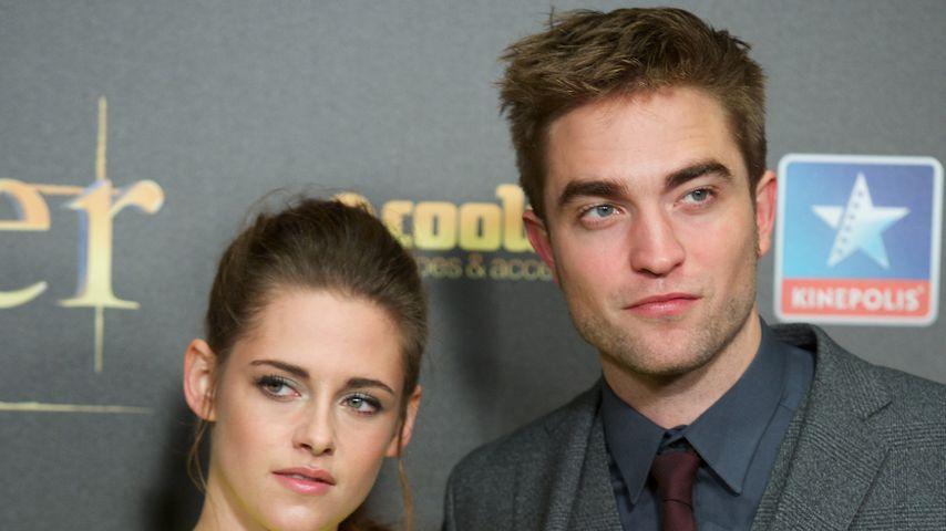 Kristen Stewart und Robert Pattinson im November 2015
