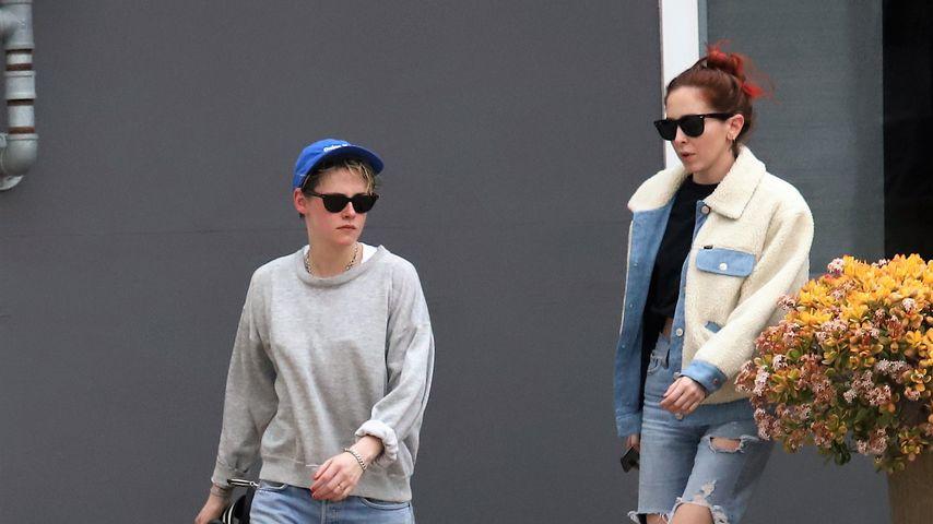 Kristen Stewart und Sara Dinkin im Februar 2019