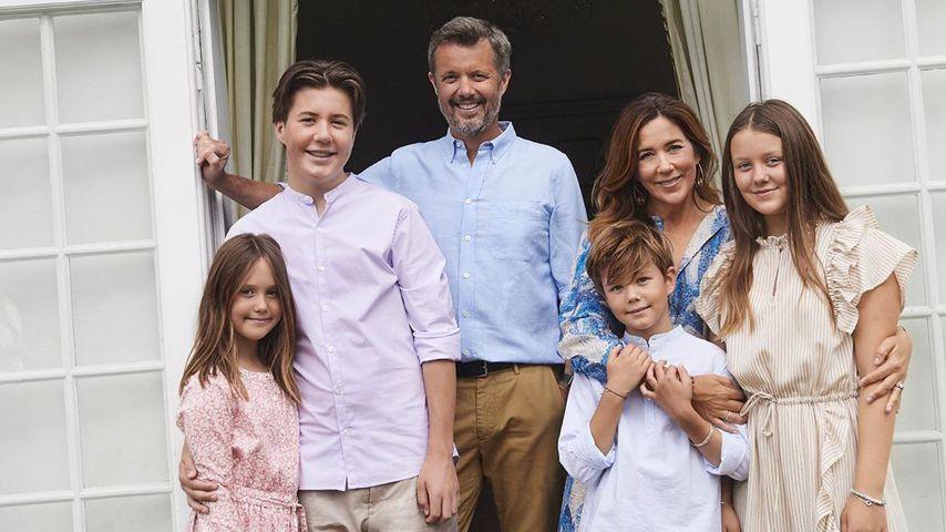 Neue Fotos der dänischen Royals: So groß sind die Kids!
