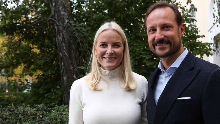 Kronprinzessin Mette-Marit und Kronprinz Haakon