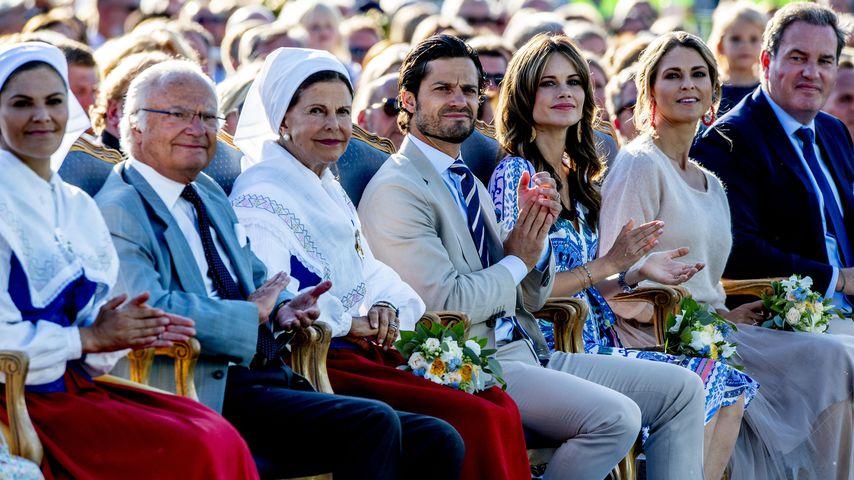 Royal-Traumauftritt: Schwedische Königsfamilie vereint