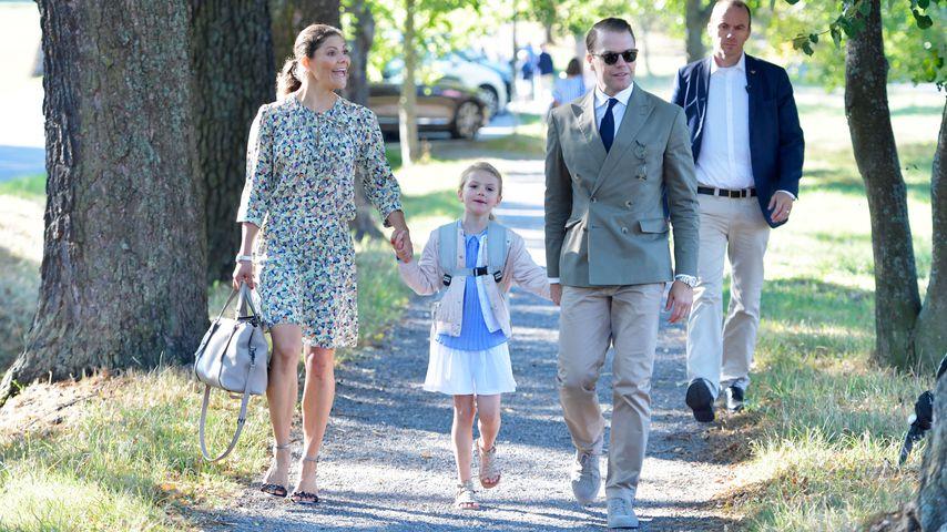 Kronprinzessin Victoria, Prinzessin Estelle und Prinz Daniel von Schweden