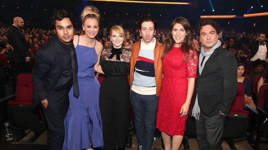 "Der Cast von ""The Big Bang Theory"" bei den People's Choice Awards 2017"
