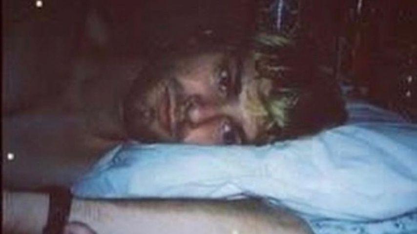 Kurt Cobain und seine Tochter Frances Bean