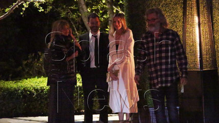 Kurt Russell, Goldie Hawn, Martin Short, Jimmy Kimmel und Conan O'Brien
