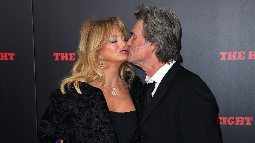 """Goldie Hawn und Kurt Russell bei der Premiere von """"The Hateful Eight"""""""