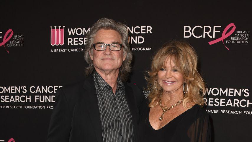 Kurt Russell und Goldie Hawn im Februar 2019