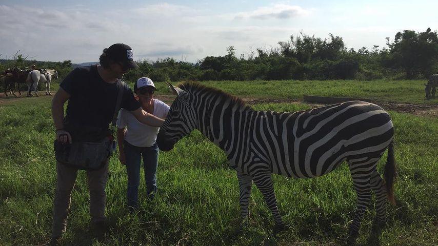 Kurt Iswarienko und Shannen Doherty in Mexiko