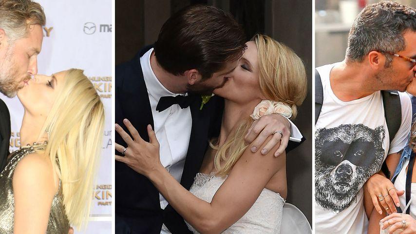 Zum Dahinschmelzen! Die schönsten Promi-Küsse 2014